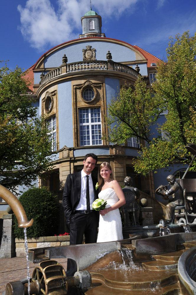 Heiraten im blauen Rathaus