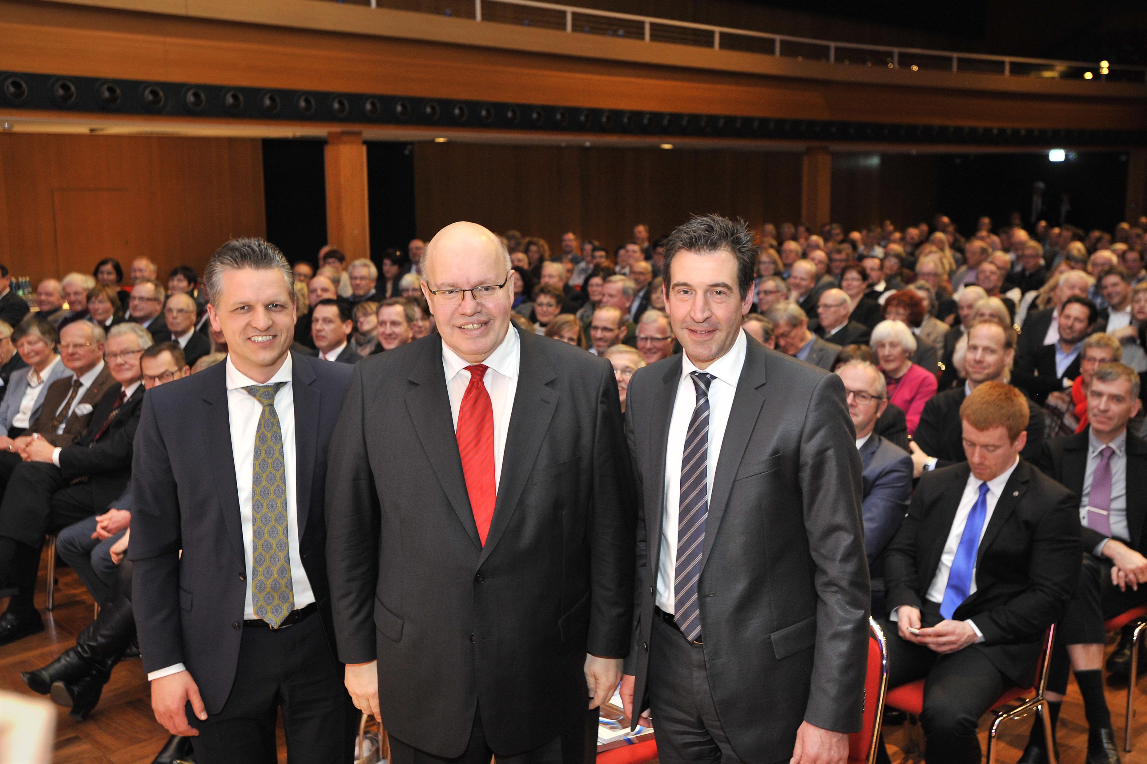 Frei, Altmaier, OB Pauly