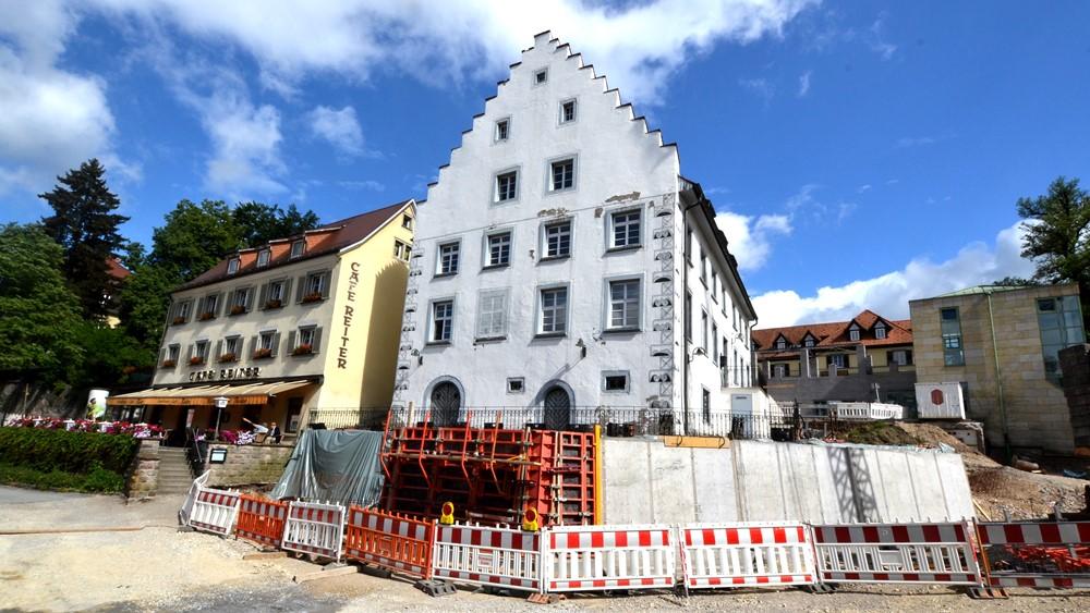 Baustelle_an_der_Stadtkirche, Foto: H. Bunse