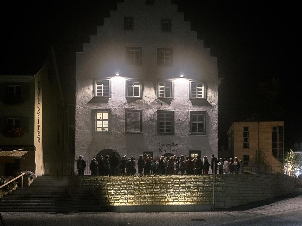 Residenzviertel Nachtaufnahmen, Foto: H. Bunse