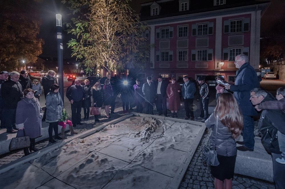 Donaumodell Lammplatz, Foto: R. Sigwarth