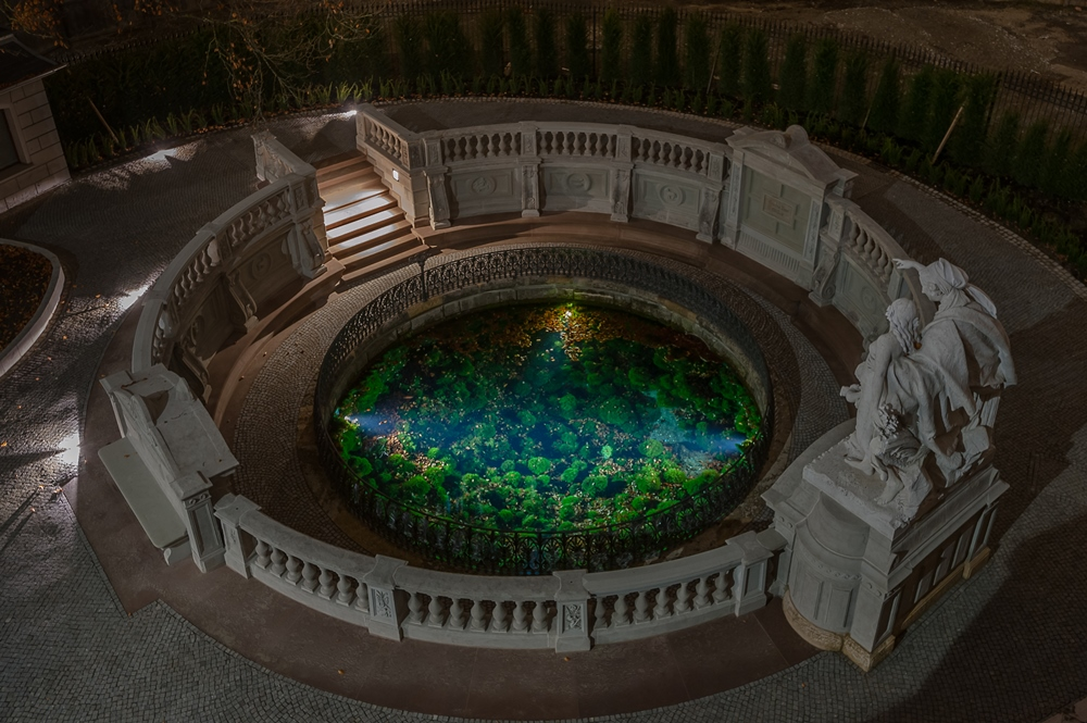 Donauquelle im Schlosspark Donaueschingen, Foto: H. Bunse