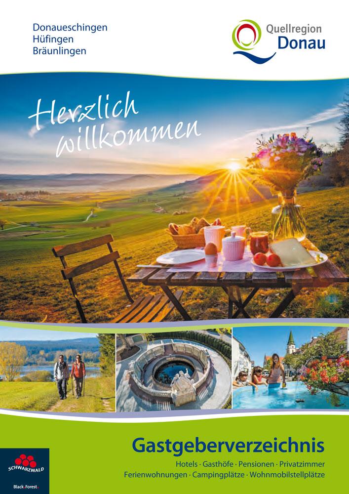 Imagebroschüre und Gastgeberverzeichnis Quellregion Donau