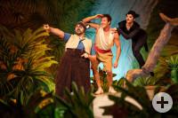 Mogli und seine Freunde erleben viele Abenteuer im Dschungel.