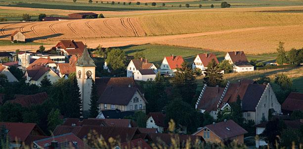 Ortsansicht Aasen, Foto: Ralf Brunner
