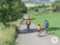 Radfahren, Copyright: Quellregion Donau