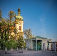 Max-Rieple-Platz und Stadtkirche. Foto: Heinz Bunse