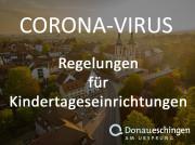 Corona-Regelungen für Kindertageseinrichtungen