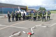 Übung Feuerwehr Flugplatz