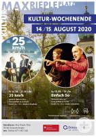 Plakat Kulturwochenende; Bild Stadt Donaueschingen