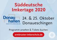 Süddeutsche Imkertage 2020