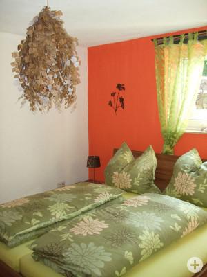 """Schlafzimmer Ferienwohnung """"Im Holzhaus"""""""