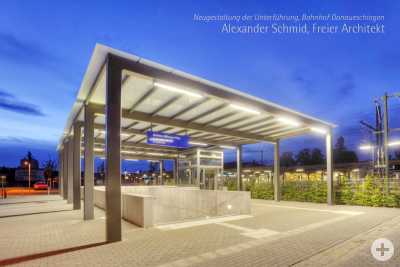 Unterführung, Bahnhof Donaueschingen
