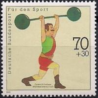 WM 1991 der Gewichtheber in Donaueschingen