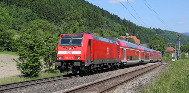 Freie Fahrt von Donaueschingen in den Schwarzwald, Foto: Jürgen Lehmann