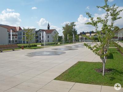 Platzgestaltung Pflegeheim Geisingen