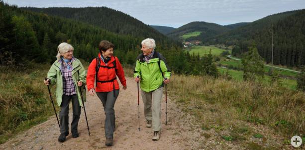 Wandern in der Quellregion Donau, Foto: Roland Sigwart