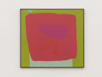 Dorothy Fratt, Red and Green, 1975