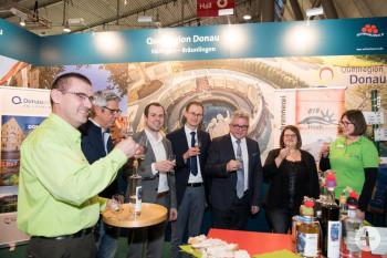 Quellregion Donau auf der Tourismusmesse CMT: A