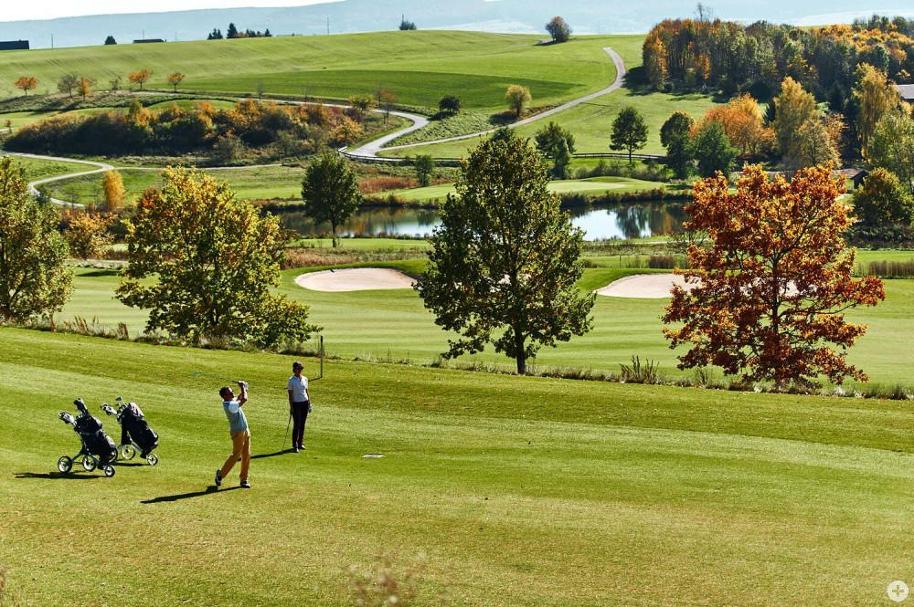 """45-Loch-Golfplatz des Hotels """"Der Öschberghof"""""""
