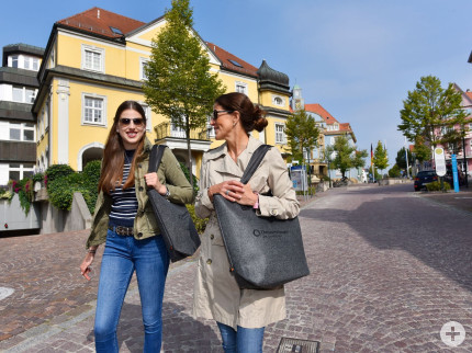 Einkaufen in der Donaueschinger Innenstadt, Copyright: Stadtverwaltung Donaueschingen, Foto: Roland Sigwart