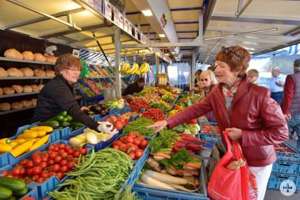 Donaueschinger Wochenmarkt, Foto: Roland Sigwart