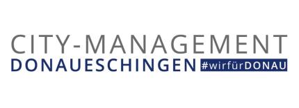 Logo City-Management Donaueschingen #wir für DONAU