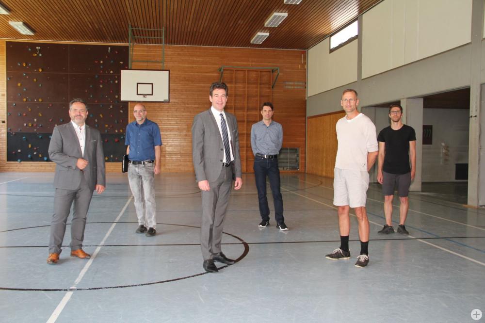 Eichendorff Turnhalle Sanierung