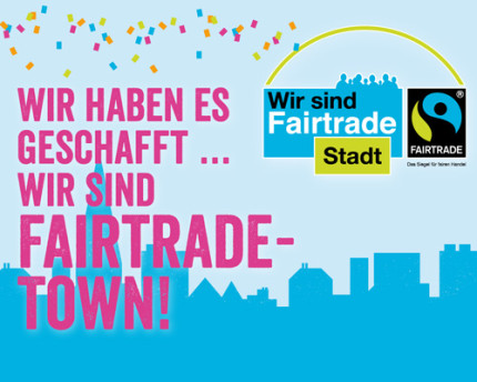 Wir sind Fairtrade-Stadt