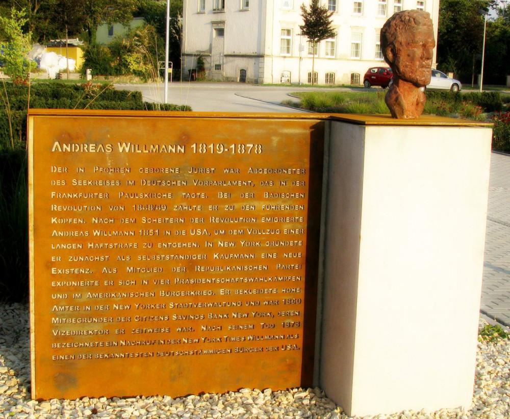 Andreas-Willmann-Denkmal, Bild: Ernst Zimmermann