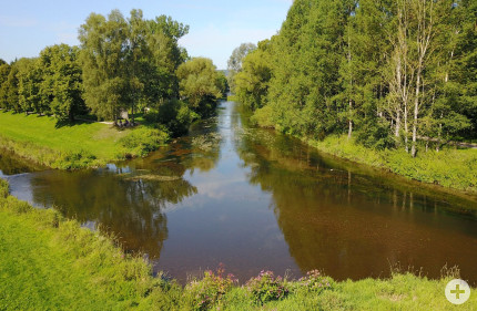 Donauzusammenfluss, Foto: Rolf Wetzel