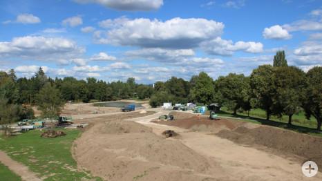 Renaturierungsprojekt am Donauursprung - Juli 2020