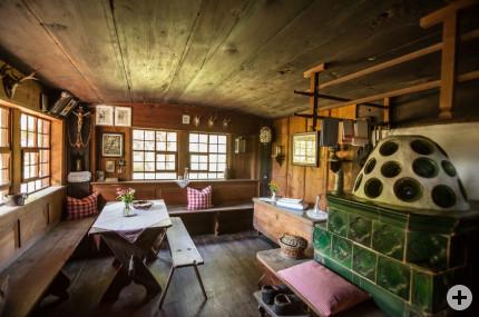 Stube Leibgedinghaus, Foto: Schwarzwälder Freilichtmuseum Vogtsbauernhof