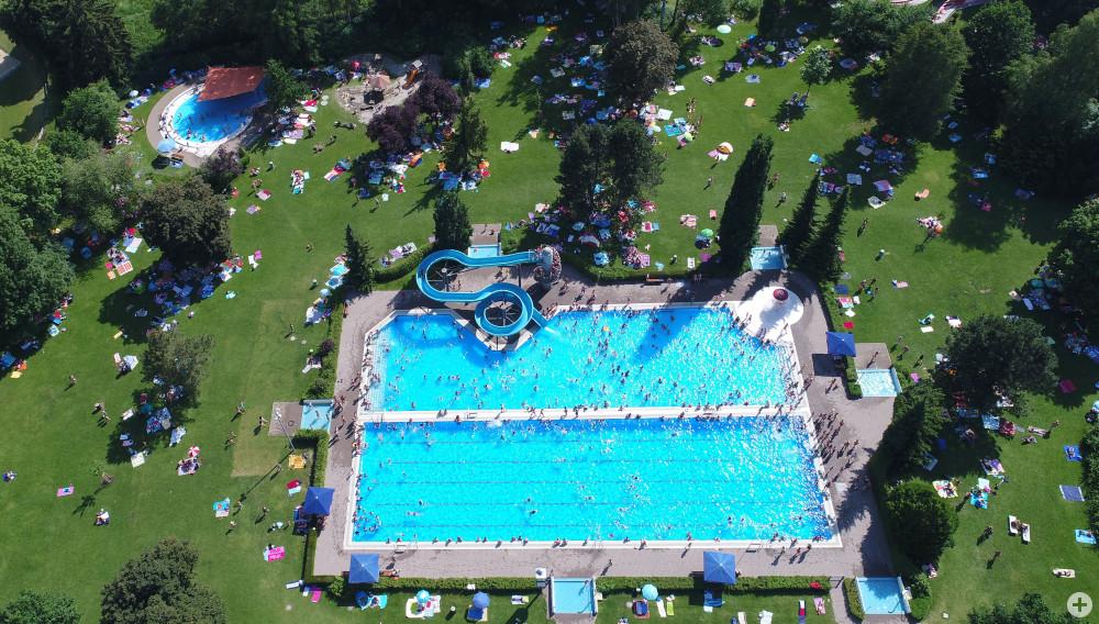 Parkschwimmbad, Foto: Roger Müller