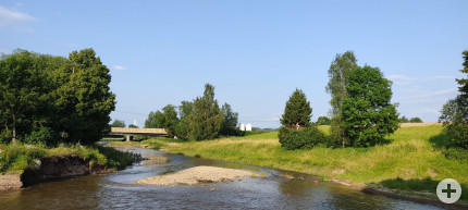 Renaturierungsprojekt am Donauursprung - Juli 2021