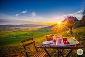 Sonnenaufgang mit herrlichen Aussichten