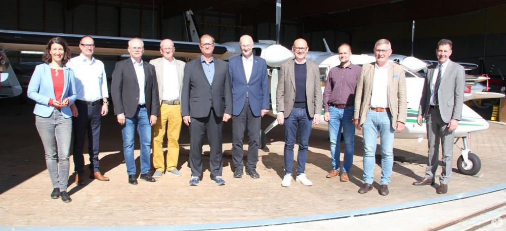 Hagelabwehr Treffen Oberbürgermeister