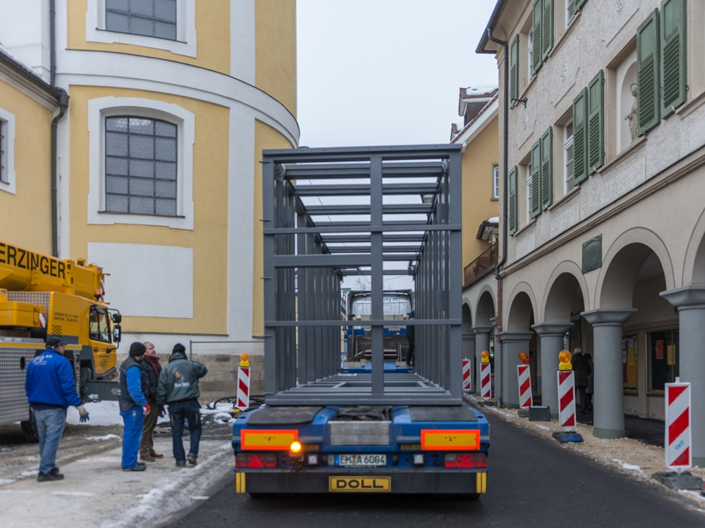 Aufzug_Donauquelle, Foto: H. Bunse