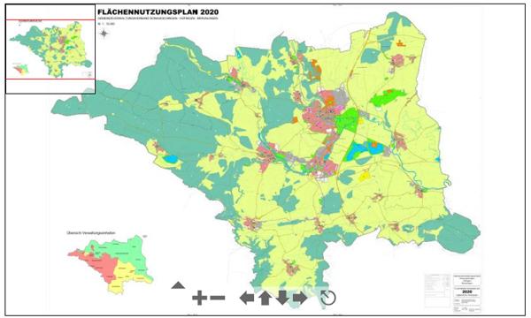 Vorschaukarte: Flächennutzungsplan